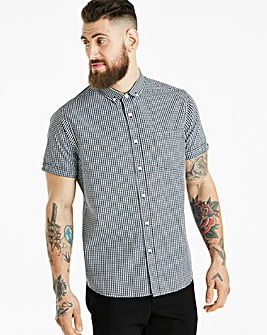 Jacamo Archer Check S/S Shirt Long