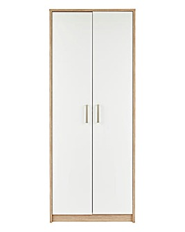 Canyon Gloss 2 Door Wardrobe