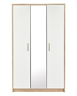 Canyon Gloss 3 Door Wardrobe