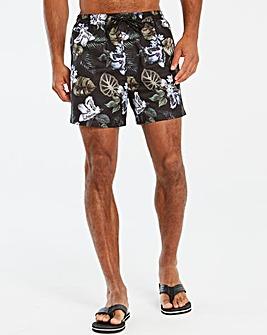 Floral Printed Swim Short