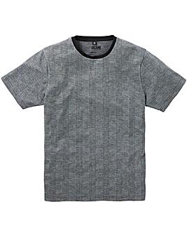 Jacamo Premium Check Jacquard T-Shirt L