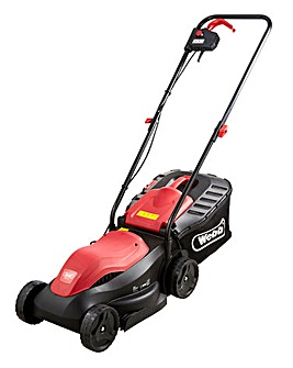 Webb Dynamic 32cm Corded Rotary Lawnmower