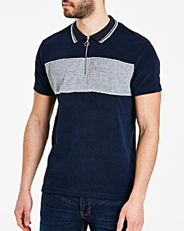 Towelling Polo Long