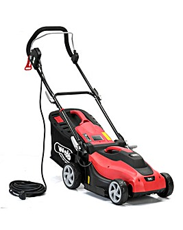 Webb Dynamic 34cm Corded Lawnmower