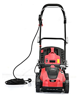 Webb Dynamic 34cm Corded Rotary Lawnmower