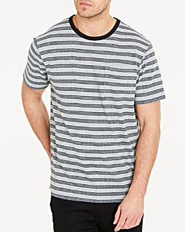Texture Stripe T-Shirt Long