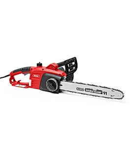 Webb 2200w 40cm Electric Chainsaw inc Oregon Bar & Chain
