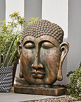 LA Hacienda Buddha Head