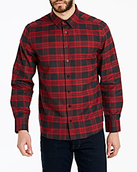 Flannel Check L/S Shirt Long