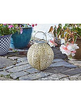 Smart Garden Cream Damasque Lantern