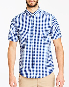 Gingham Check S/S Shirt