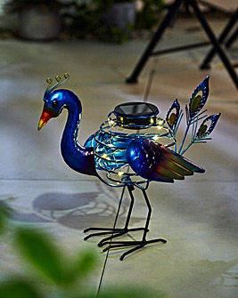 Smart Garden Peacock Solar Spiralight