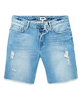 Jacamo Raw Hem Denim Shorts
