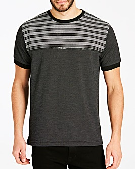 Jacamo Premium Textured T-Shirt Long