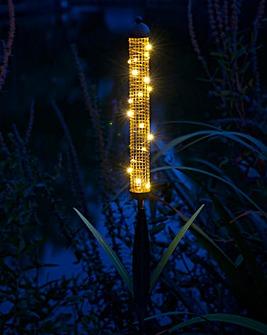 Bulrush Solar Stake Light