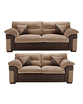 Dexter 3 Plus 2 Seater Sofa