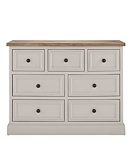 Ashdawn Assembled 3 Over 4 Drawer Chest