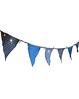 Coastal Solar Bunting String Lights