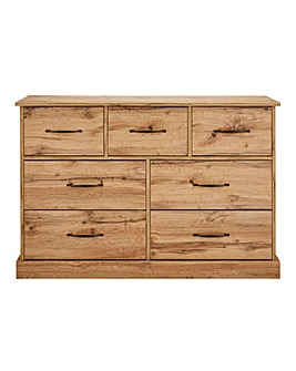 Hartland 3 Over 4 Drawer Chest