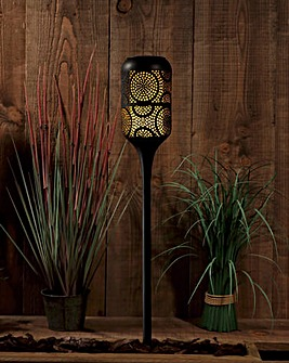 Global Flame Solar Stake Light Torch