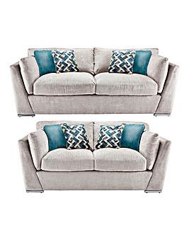 Rubix 3 Plus 2 Seater Sofa