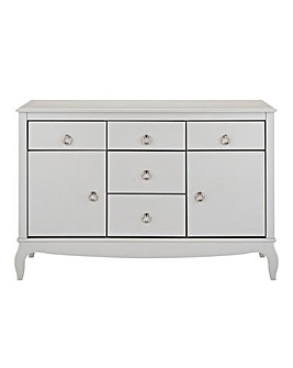 Elise 2 Door 5 Drawer Sideboard