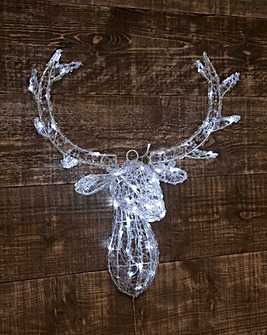 Deer head door hanger