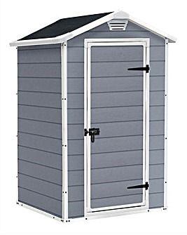 Keter Manor 4x3 Plastic Shed