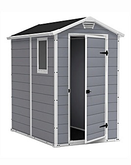 Keter Manor 4x6 Plastic Shed