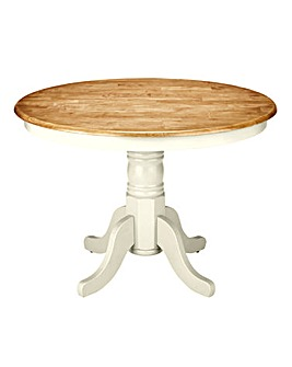 Hove Farmhouse Style Circular Table