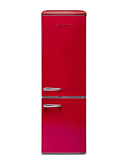 Galanz 300L Retro Fridge Freezer Red