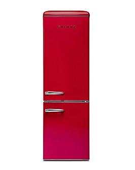 Galanz 300L Retro Fridge Freezer Red