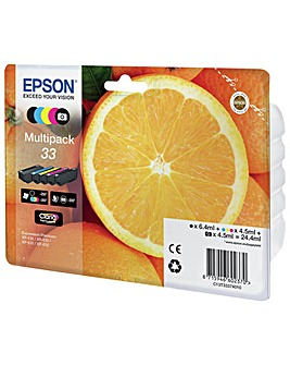 Epson 33 Oranges Ink Cartridges