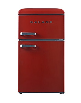 Galanz RFFK003R Retro 86L Mini FF, Red