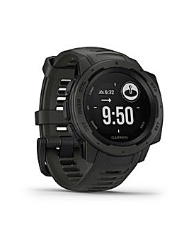 Garmin Instinct GPS Fitness Tracker - Graphite