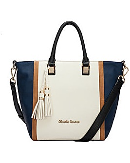 Claudia Canova Two Tone Tote Bag