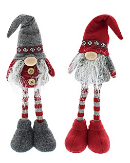 Pair of 2 ribbon band standing gonks
