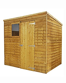 Mercia 7x5 Overlap Shed with Reverse Window