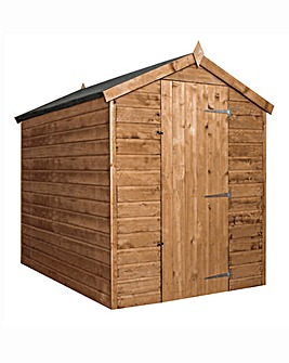 7 x 5 Pressure Treated Shiplap Apex Shed