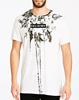 Religion White Fine Art T-Shirt L
