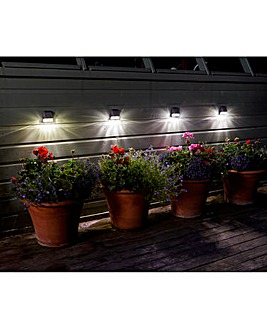 Smart Garden Set of 4 Solar Fence Lights