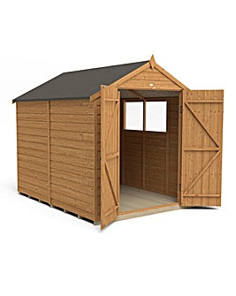 Forest 8x6 Overlap Shed with Double Door