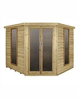 Forest Oakley 7x7 Corner Summerhouse