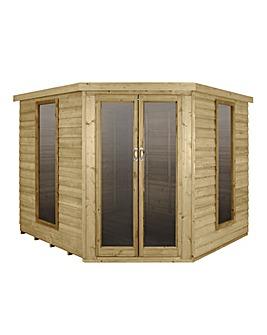 Forest Oakley 8x8 Corner Summerhouse