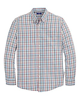 Premier Man Long Sleeve Brushed Check Shirt