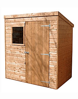 Mercia 6x4 Shiplap Shed with Window