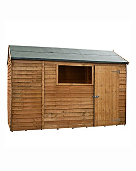 Mercia 10x6 Overlap Shed Reverse Window