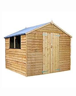 Mercia 8x8 Apex Overlap Shed with Window