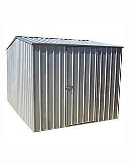 Absco Premier Titanium 10x7 Metal Shed