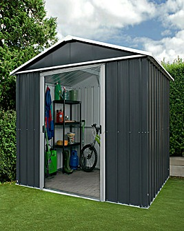 Yardmaster 7x6 Apex Metal Shed